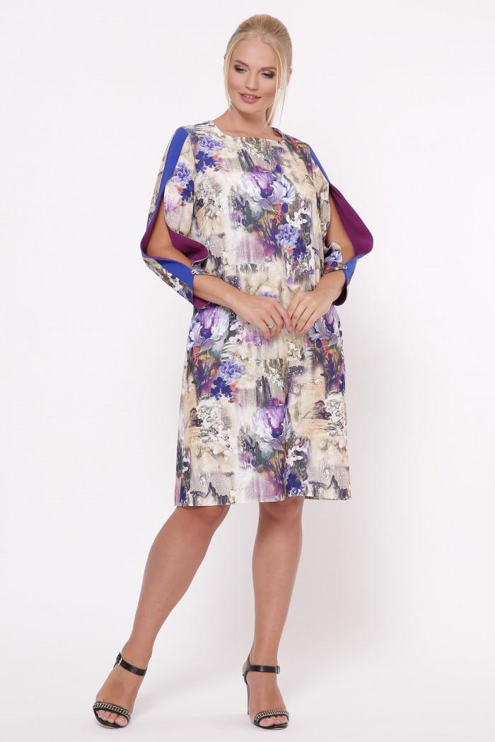 Платье Нэнси акварель