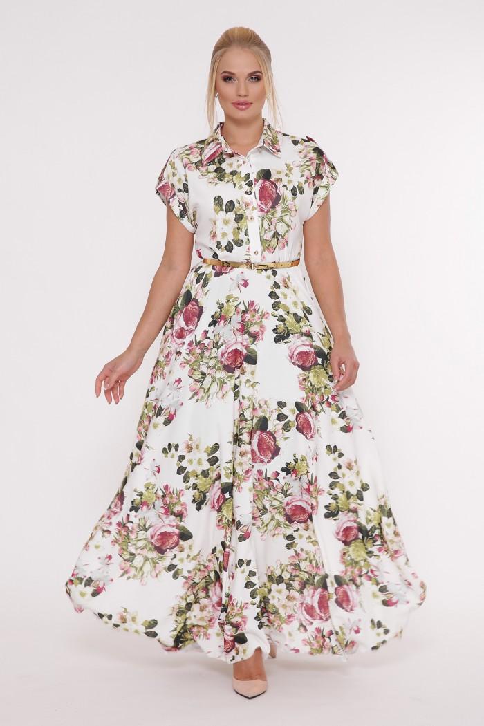 Платье Алена букет