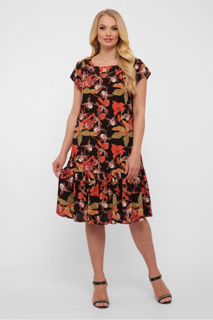 Платье Яна черное