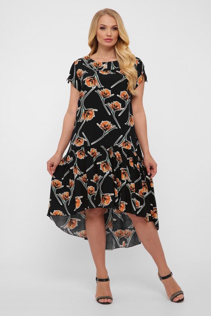 Платье Герда черное