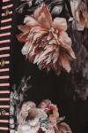 Платье-рубашка Сати пионы