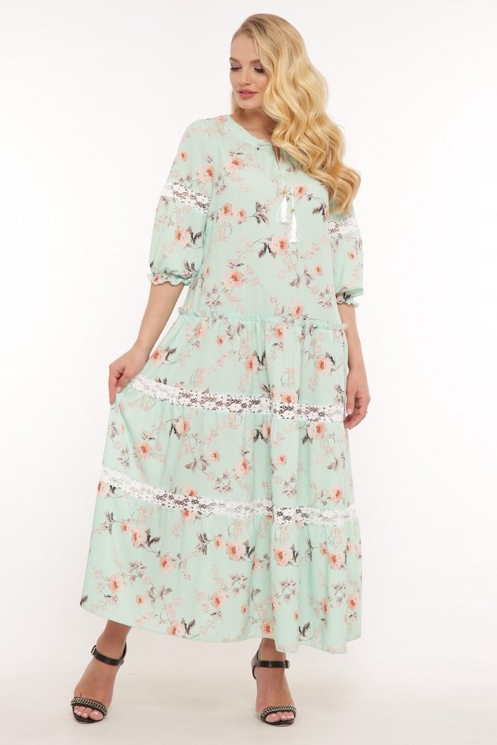 Платье Анна мята