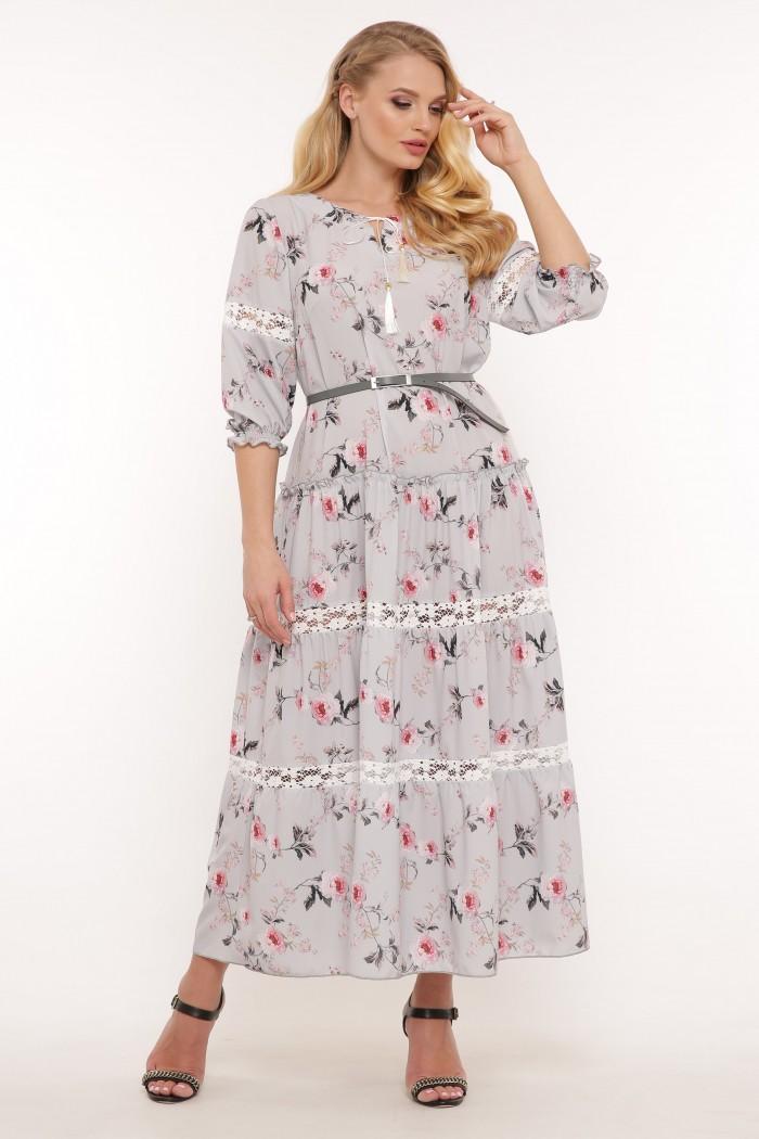 Платье Анна небо