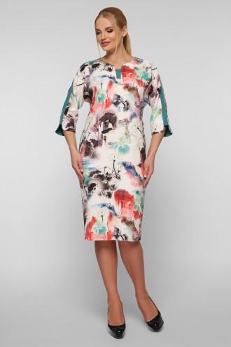 Платье Милена абстракция