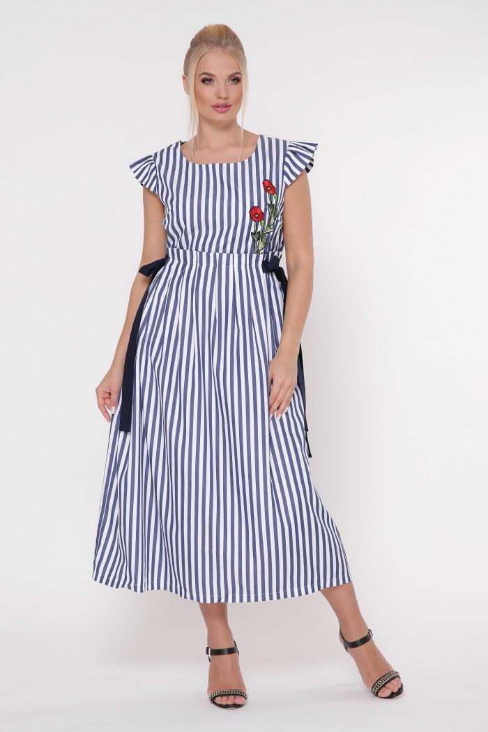 Платье Афродита полоса