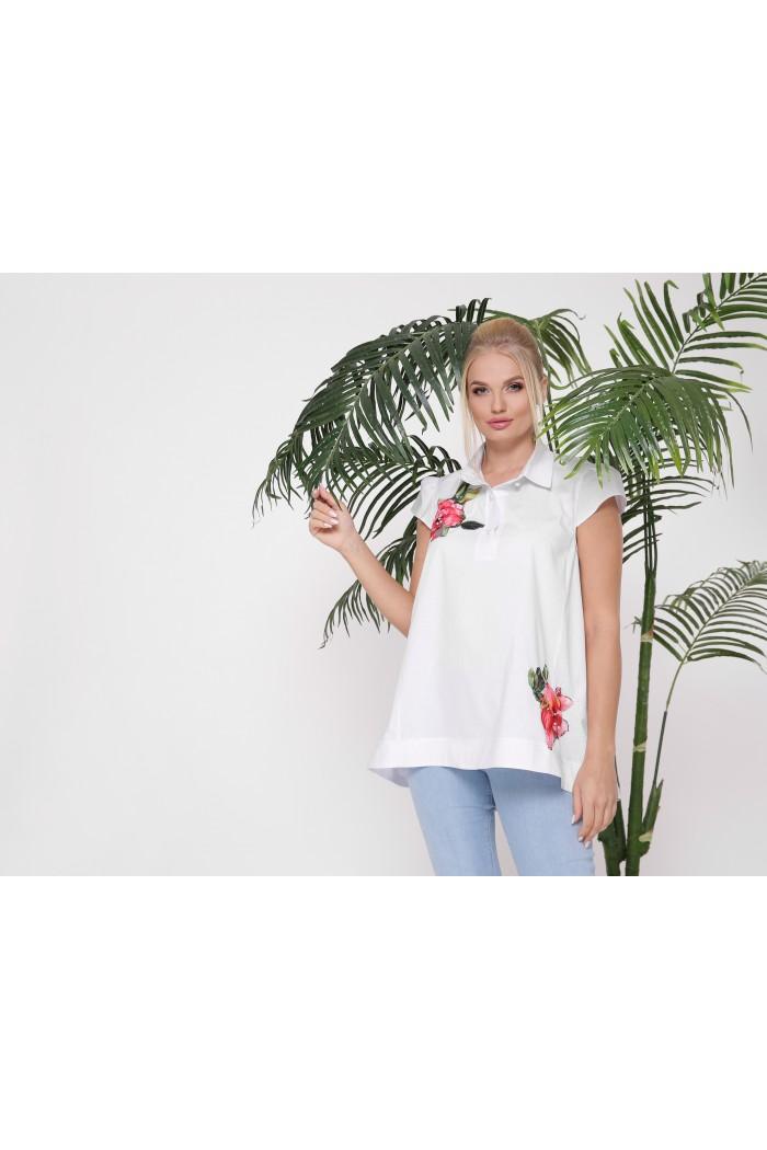 Рубашка Розмари белая