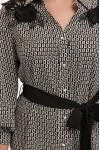 Блуза нарядная Франческа черный