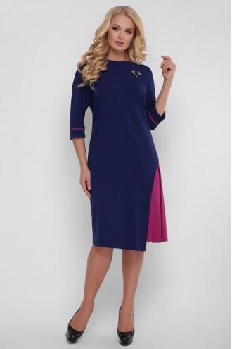 Платье Ванда синее