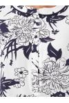 Блуза женская Бэтти цветы