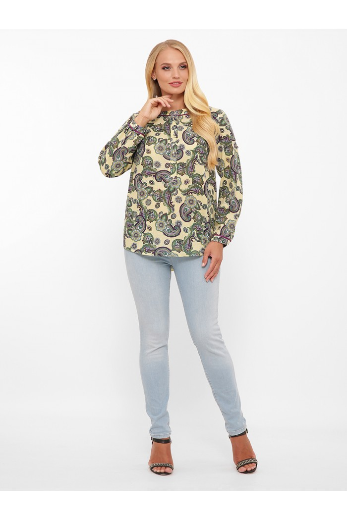 Блуза женская Бэтти лайм