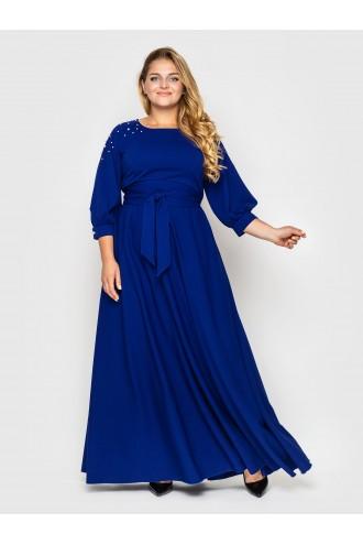 Платье Вивьен электрик