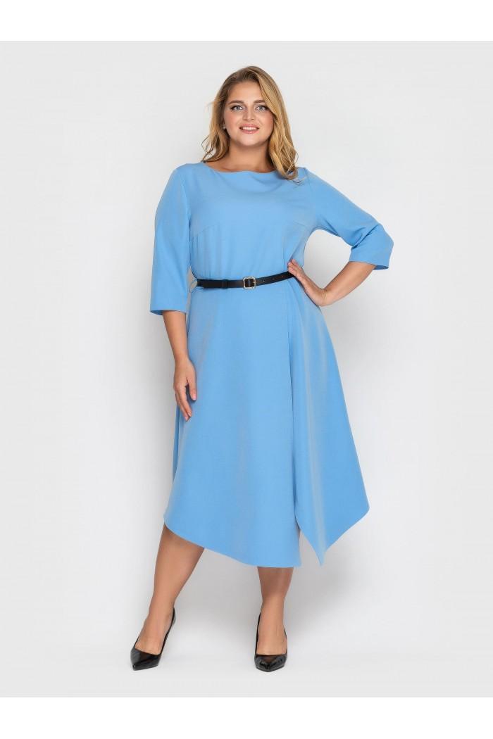 Платье Патриция голубое