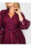 Нарядное платье Рина фуксия