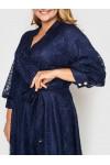 Нарядное платье Рина синее