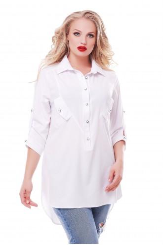 Рубашка Стиль Белая