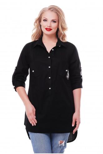 Рубашка Стиль Черная