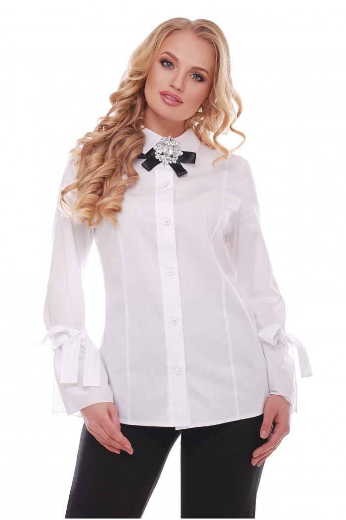 Блузка Агата Белая