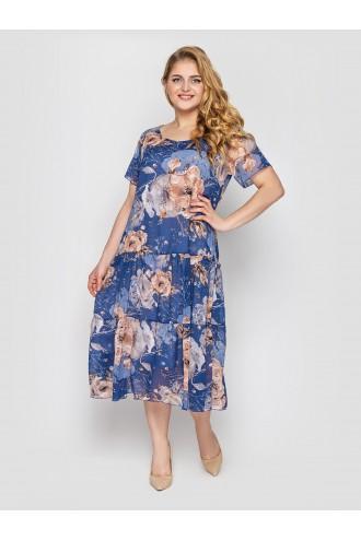 Платье Катаисс деним