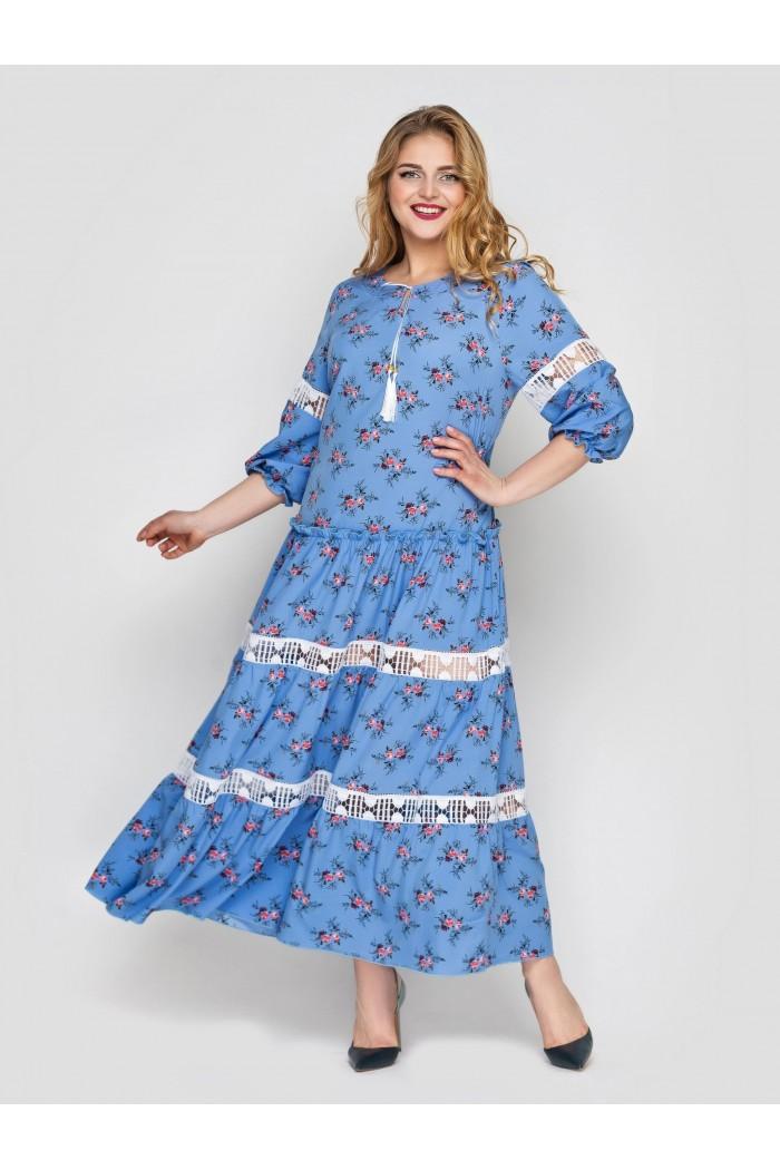 Платье Анна василек