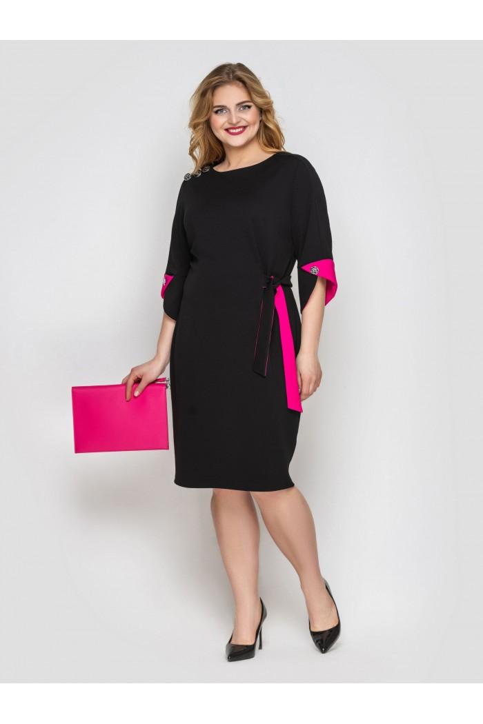 Платье офисное Джулия черное