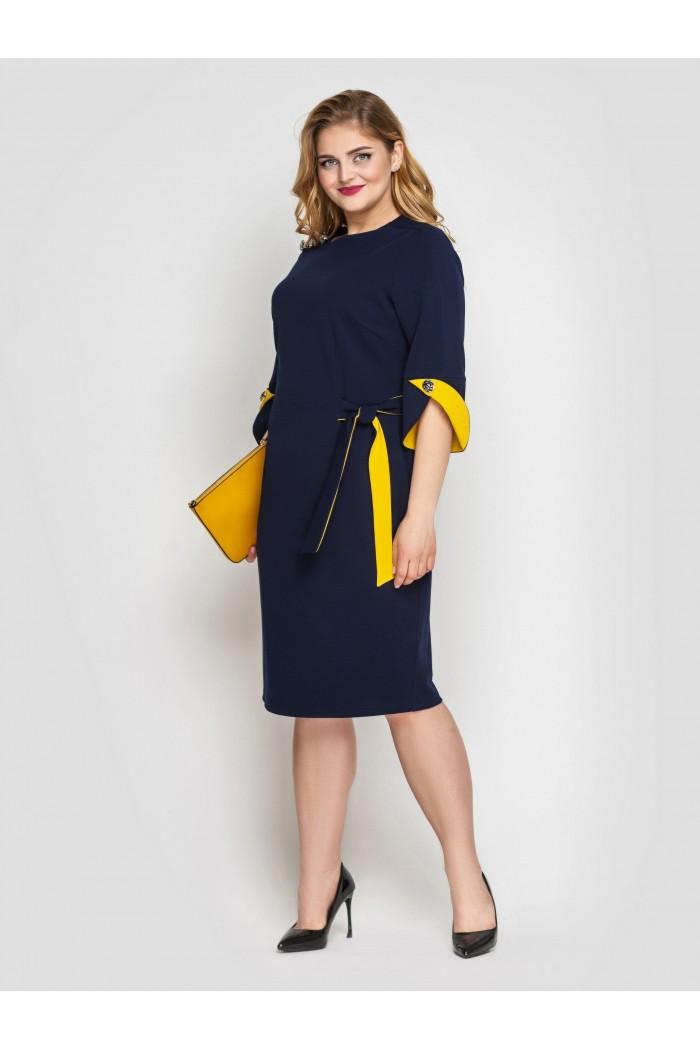 Платье Джулия синее