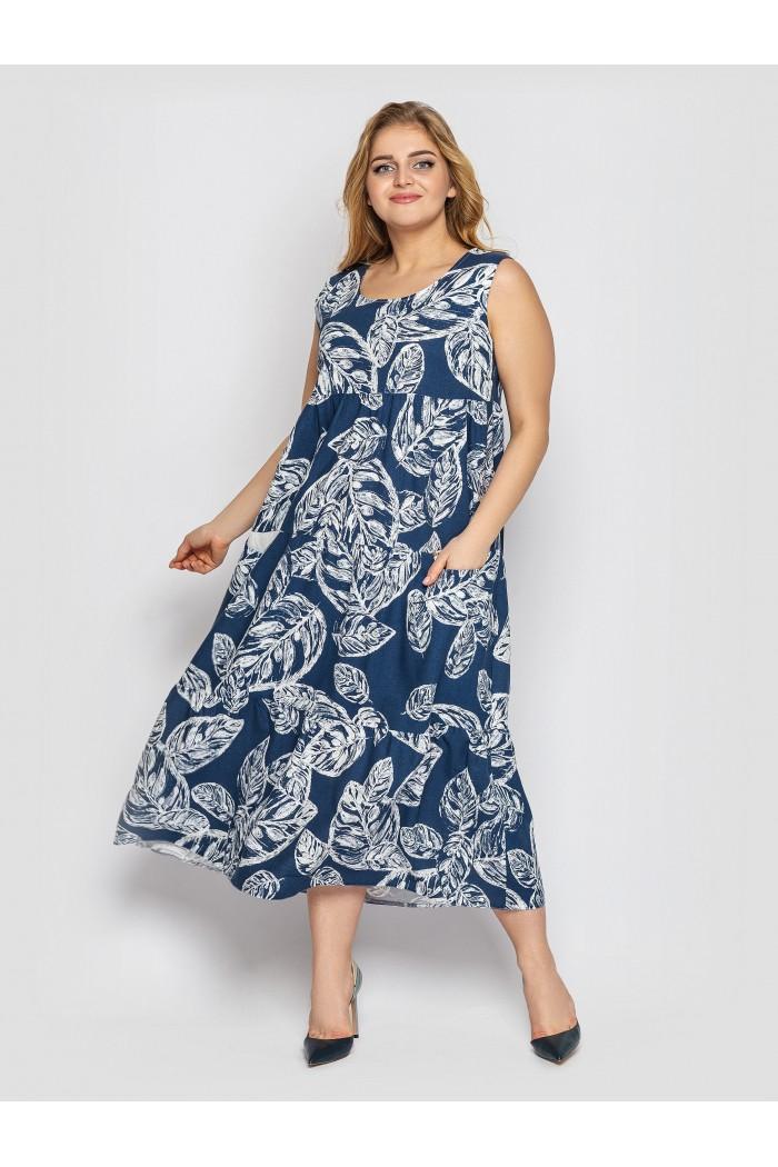 Платье Тала  деним