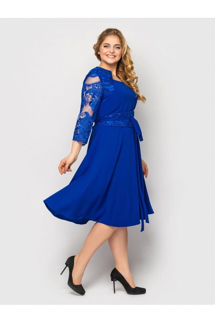 Платье нарядное Кэрол электрик