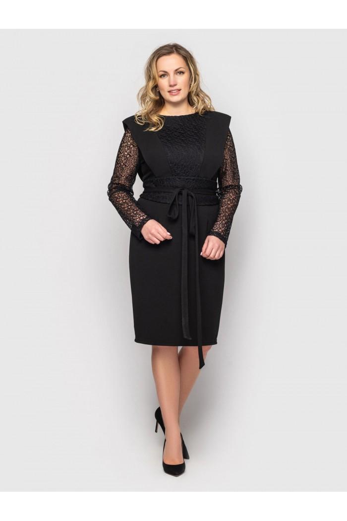 Платье женское Беатрис черное