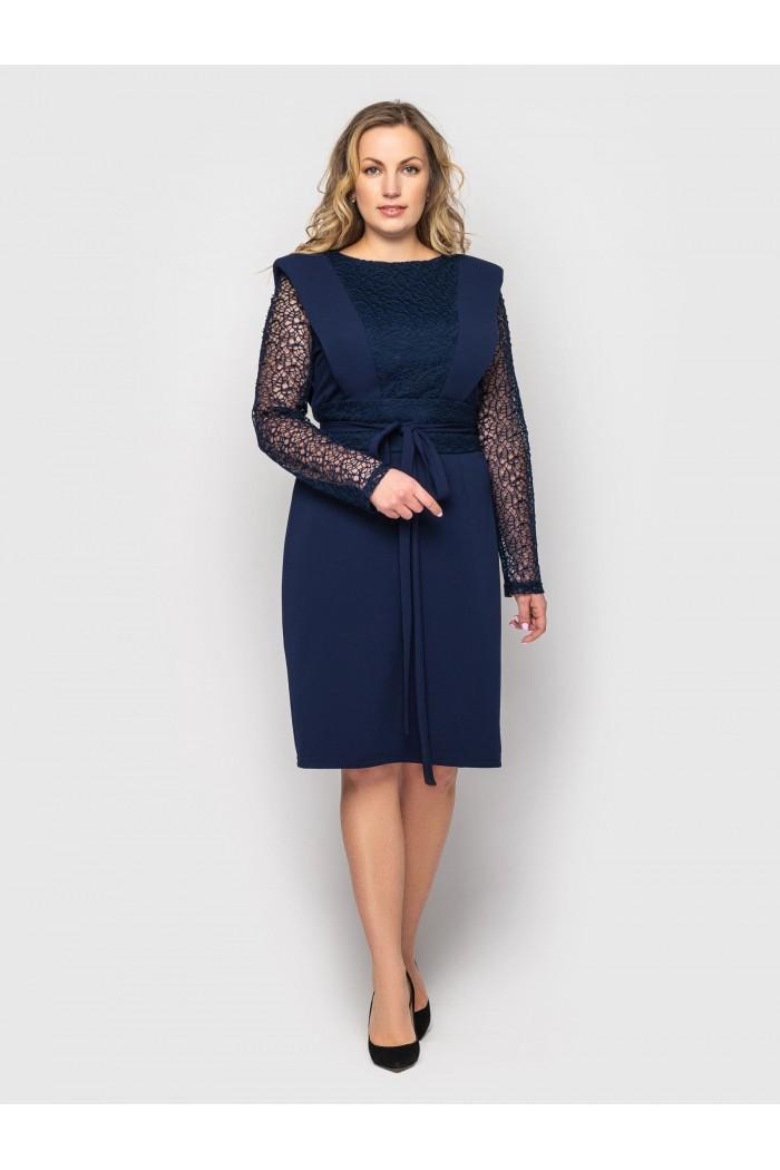 Платье женское Беатрис синее
