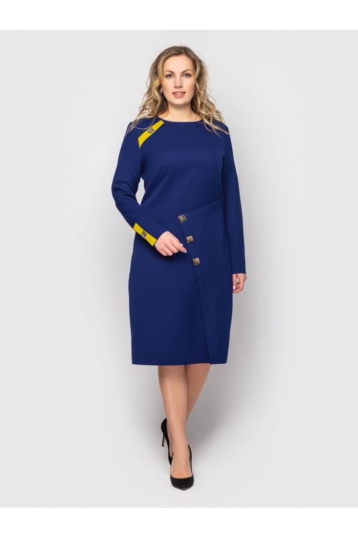 Платье женское Аурика синее