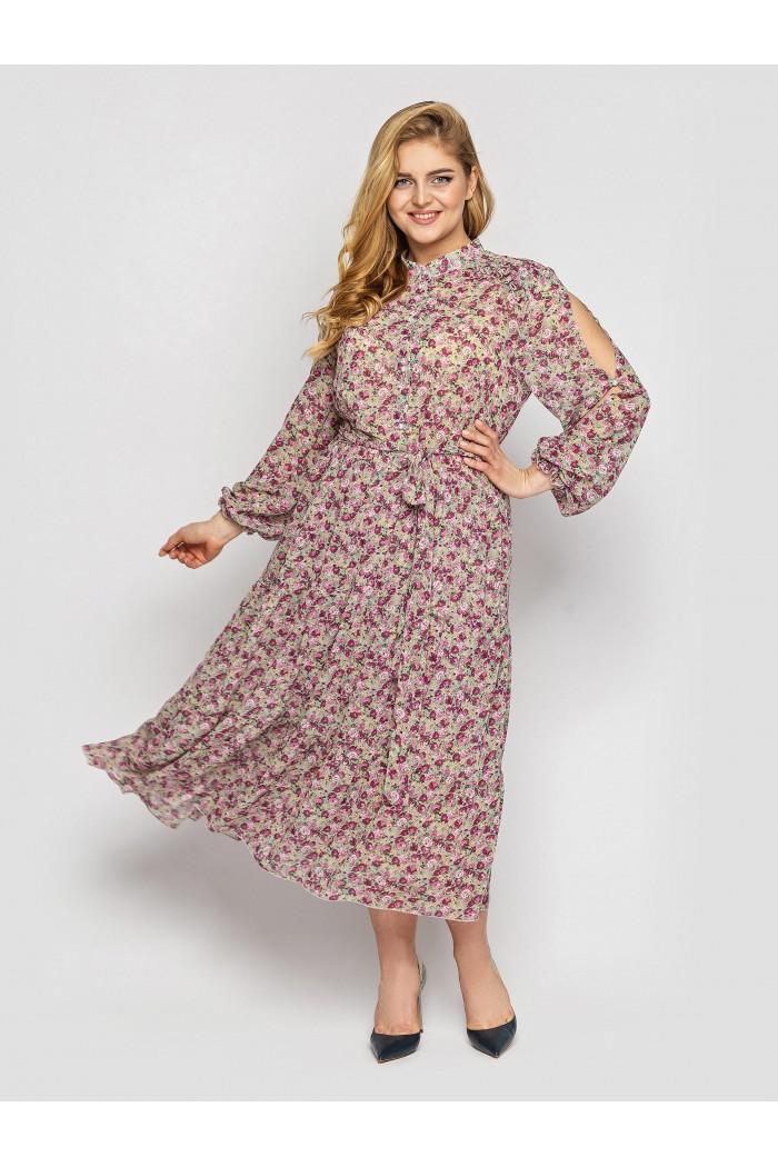 Платье Юнона фисташка