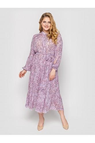 Платье Юнона розовое