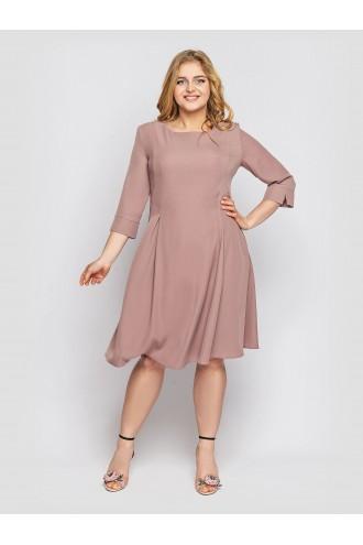 Платье Милана пудра