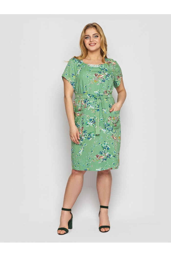Платье летнее женское Веста фисташка