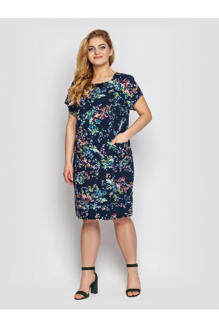 Платье летнее женское Веста синее