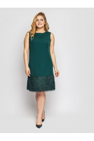 Женское платье Паллада изумруд