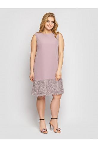 Женское платье Паллада пудра