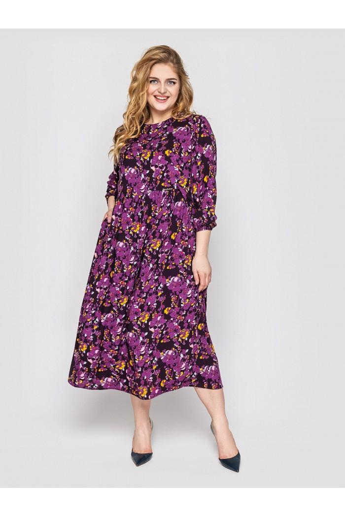 Платье женское Ярослава фиолет
