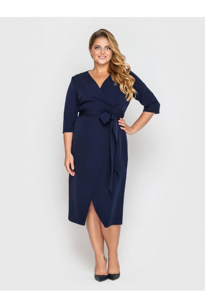 Платье Жанин синее