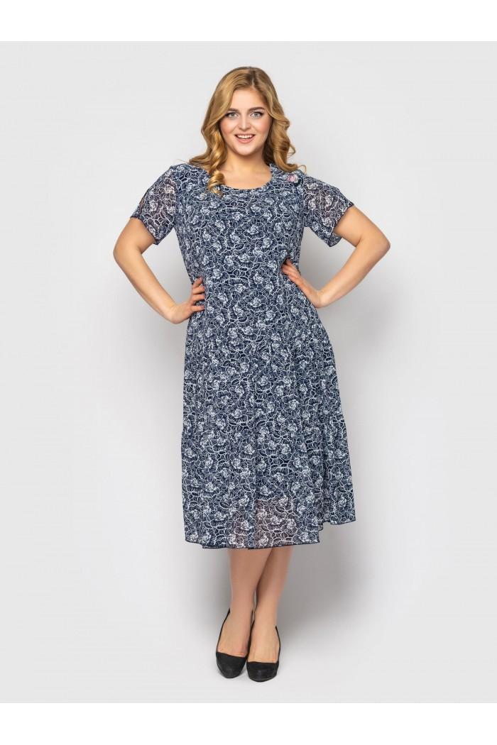 Платье Катаисс флора