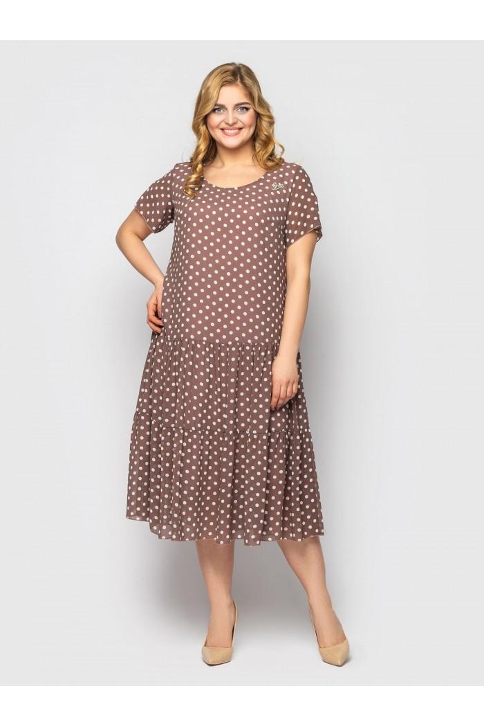 Платье Катаисс горох