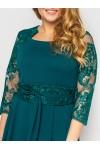 Платье нарядное Кэрол изумруд