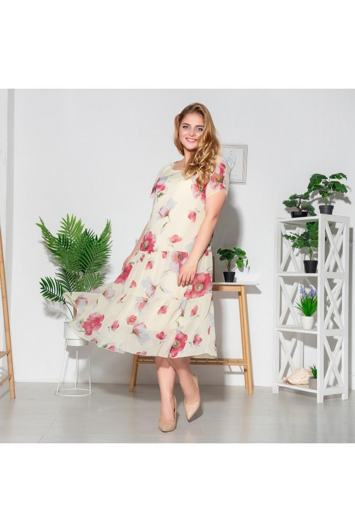 Платье Катаисс ваниль