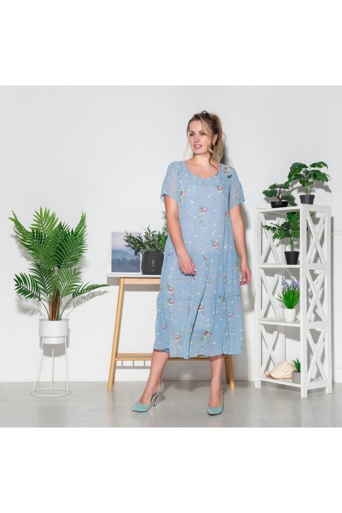 Платье Катаисс букет