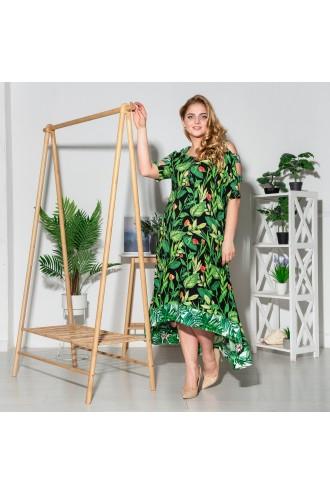 Платье Тропикана флора