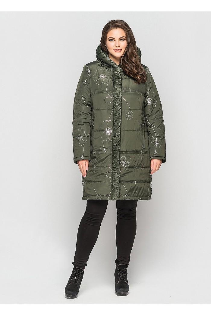 Куртка Диана хаки
