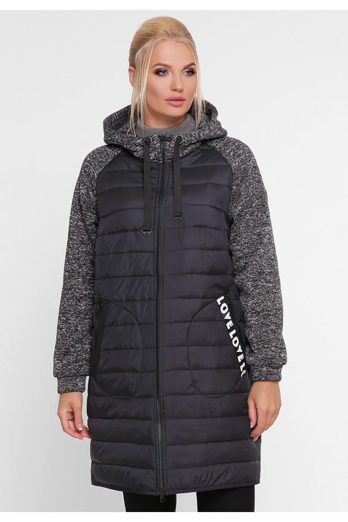 Женская демисезонная куртка Амалия черная