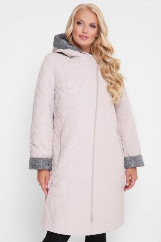 Женская демисезонная куртка Косуха пудра