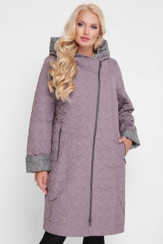 Женская демисезонная куртка Косуха светло-серое