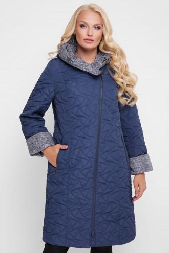 Женская демисезонная куртка Косуха синее